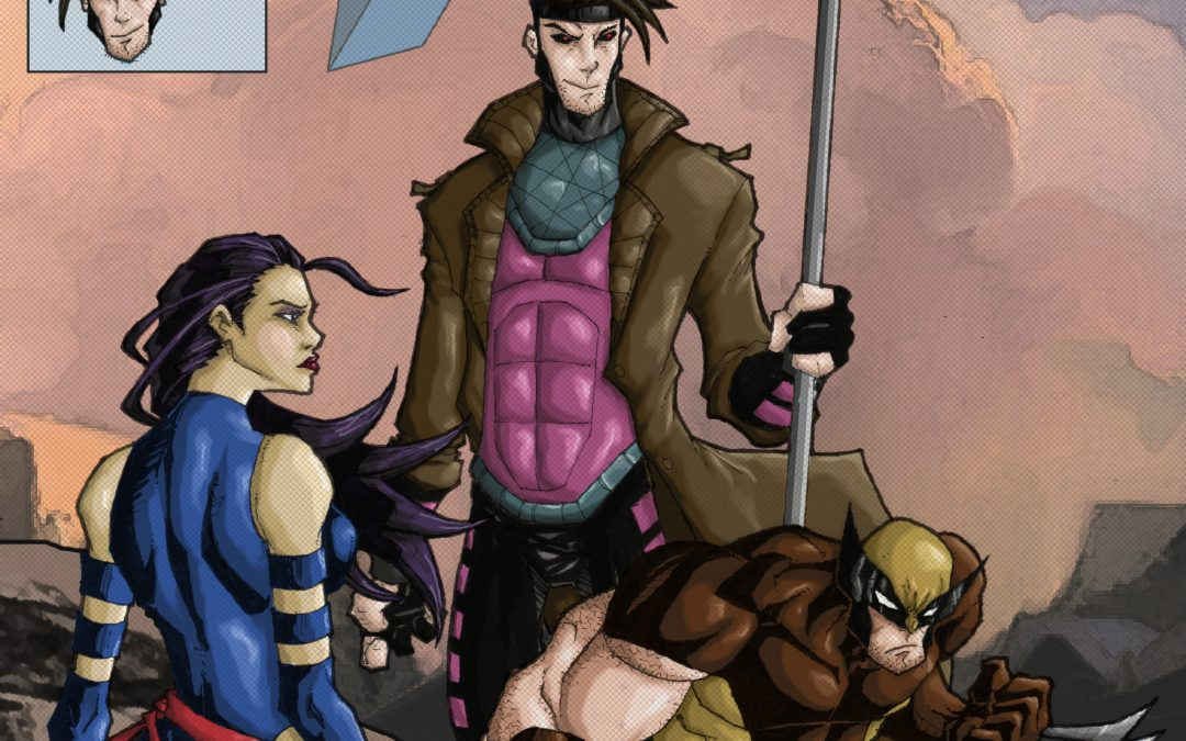 Fan Art: Uncanny X-Men 268 Homage