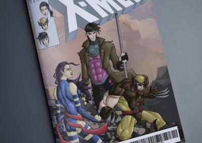 Wolverine, Gambit, Psylocke (Jan 2019) - Cover Mockup