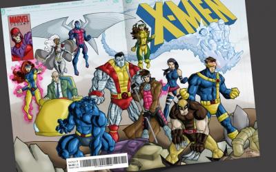 Fan Art: X-Men 1 Homage