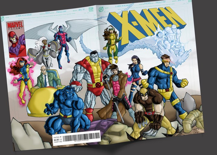 Fan Art: X-Men 1 Homage